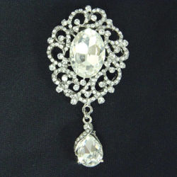 Picture of Clear Stone Brooch