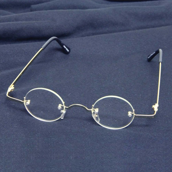 Picture of Fu Man Chu Gold Glasses Clear Lenses