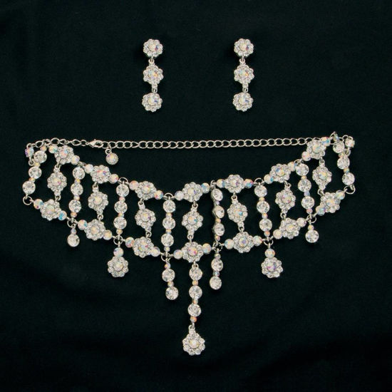 Picture of Crystal Necklace & Earrings