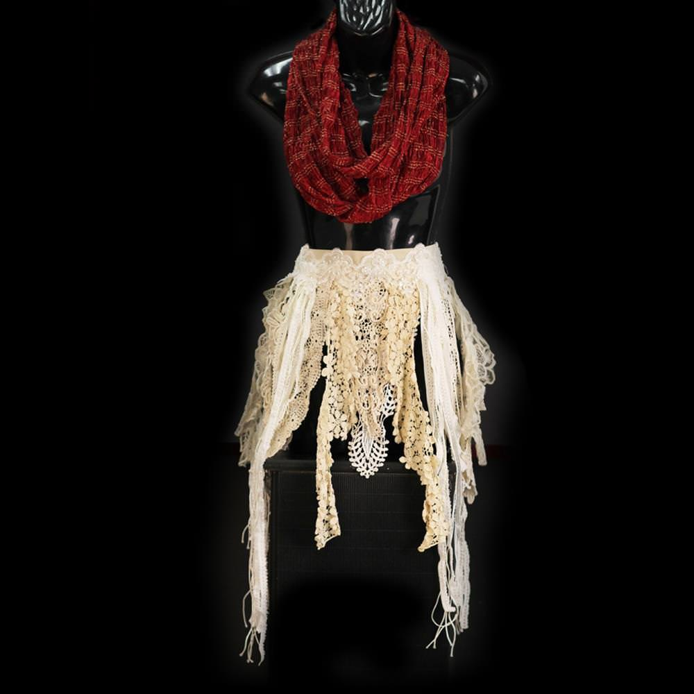 Picture of Lace Fringe Hip Belt
