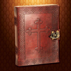 Picture of Crusader Leather Journal