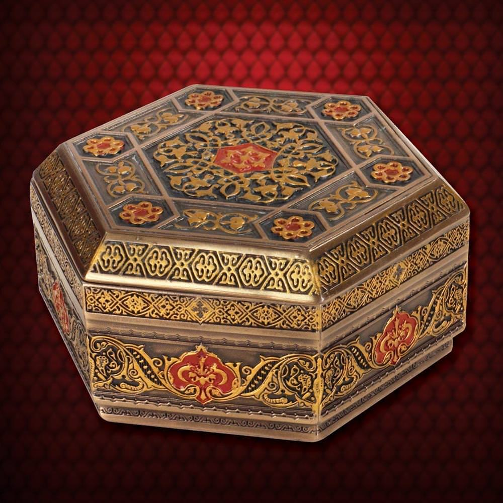 Picture of Viking Trinket Box Hexagonal