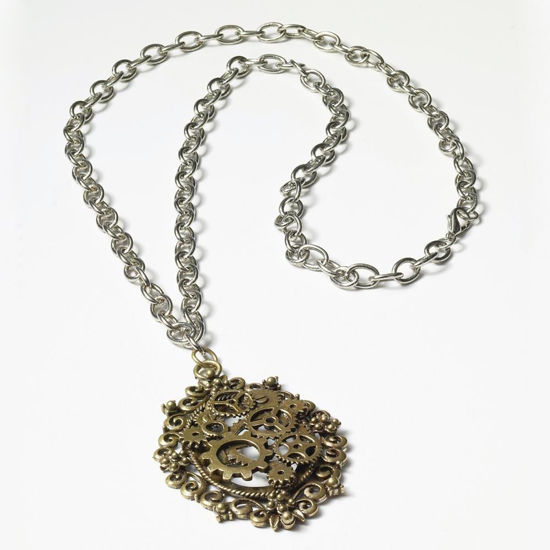 Picture of Geared Brooch Necklace
