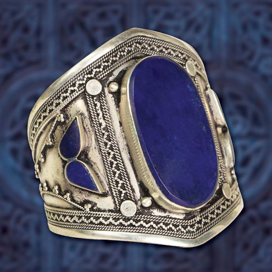 Picture of Lapis Cuff Bracelet