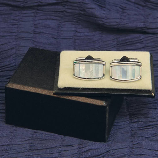 Picture of Cuff Links Mother of Pearl