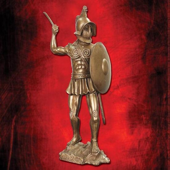 Spartacus Warrior with Shield Statue