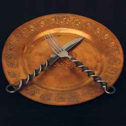 Picture of Iron Fork and Knife