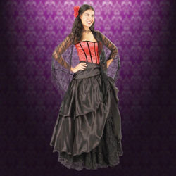 Picture of Layered Overskirt