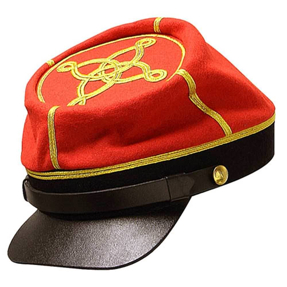 Picture of Confederate Artillery Officers Kepi 2nd Pattern