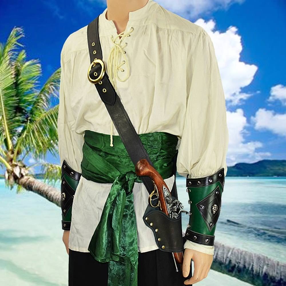 Picture of Pirate's Single Holster Pistol Baldric