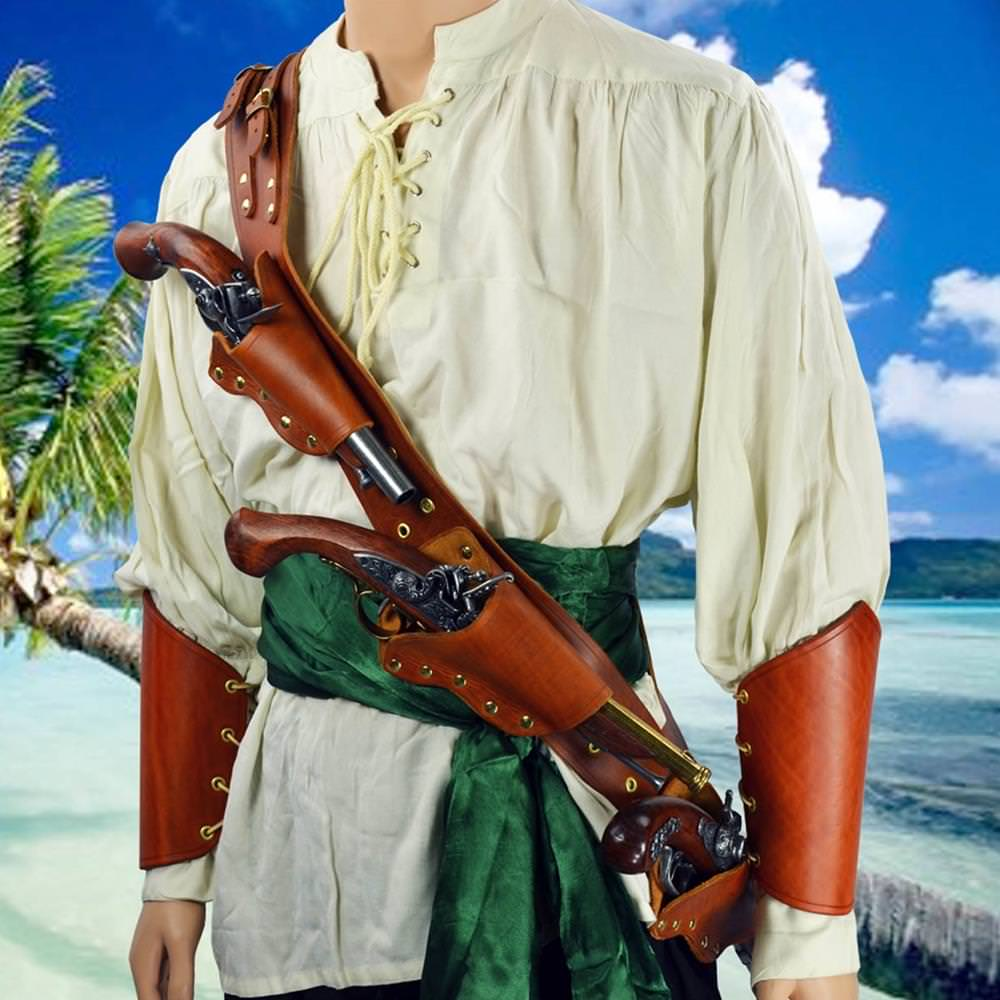 Picture of Pirate's Triple Threat Pistol Baldric