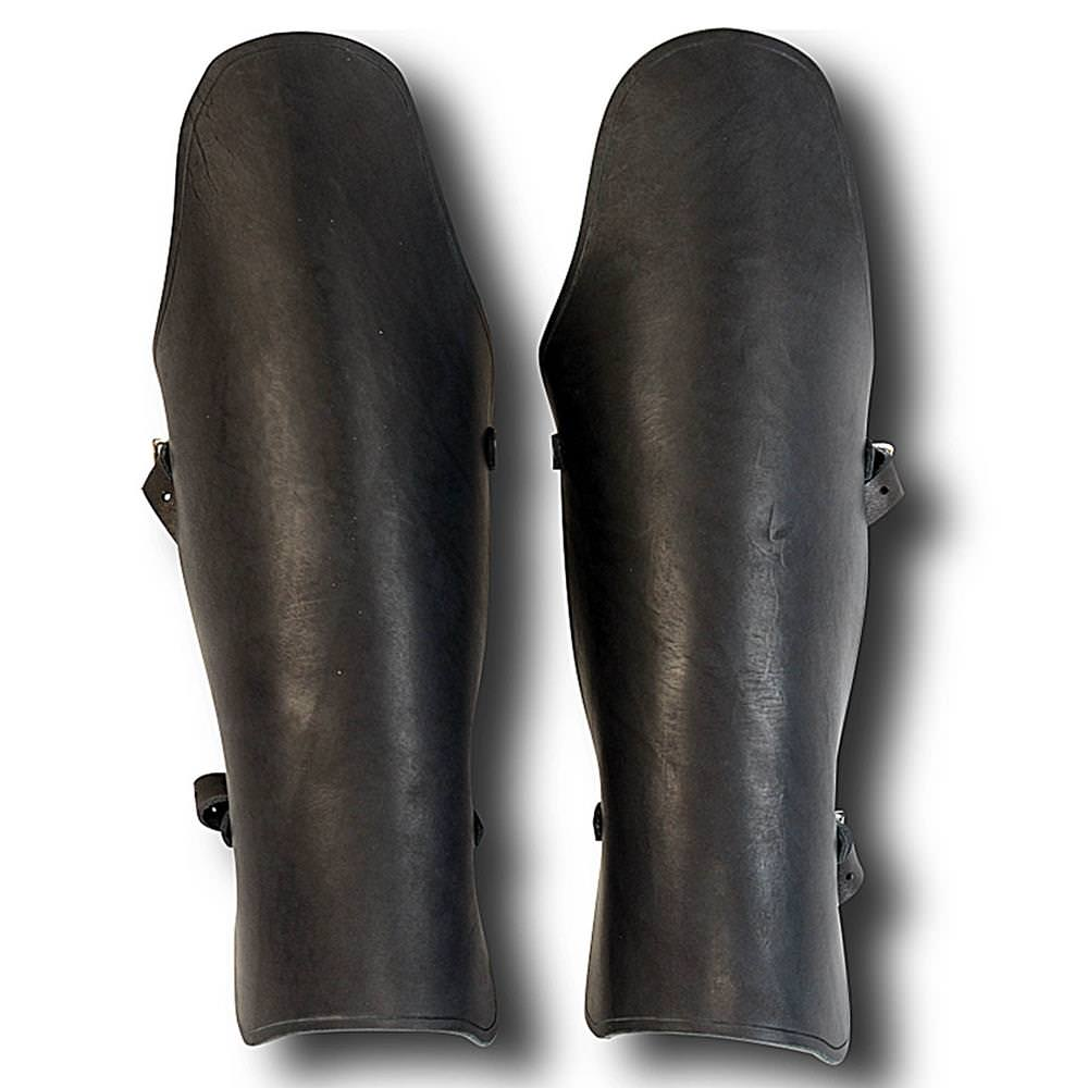 Picture of Leather Gladiator Greaves