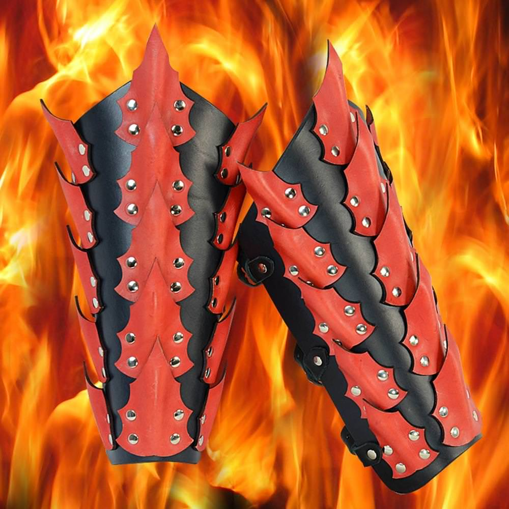 Picture of Dragon King Leather Greaves