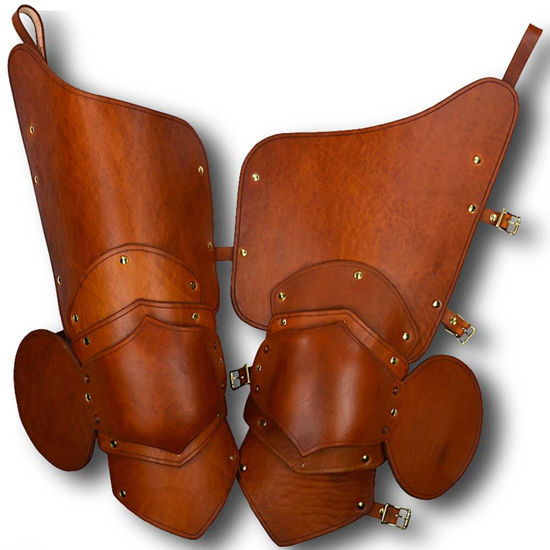 Picture of Knightly 3/4 Leather Upper Leg Armour