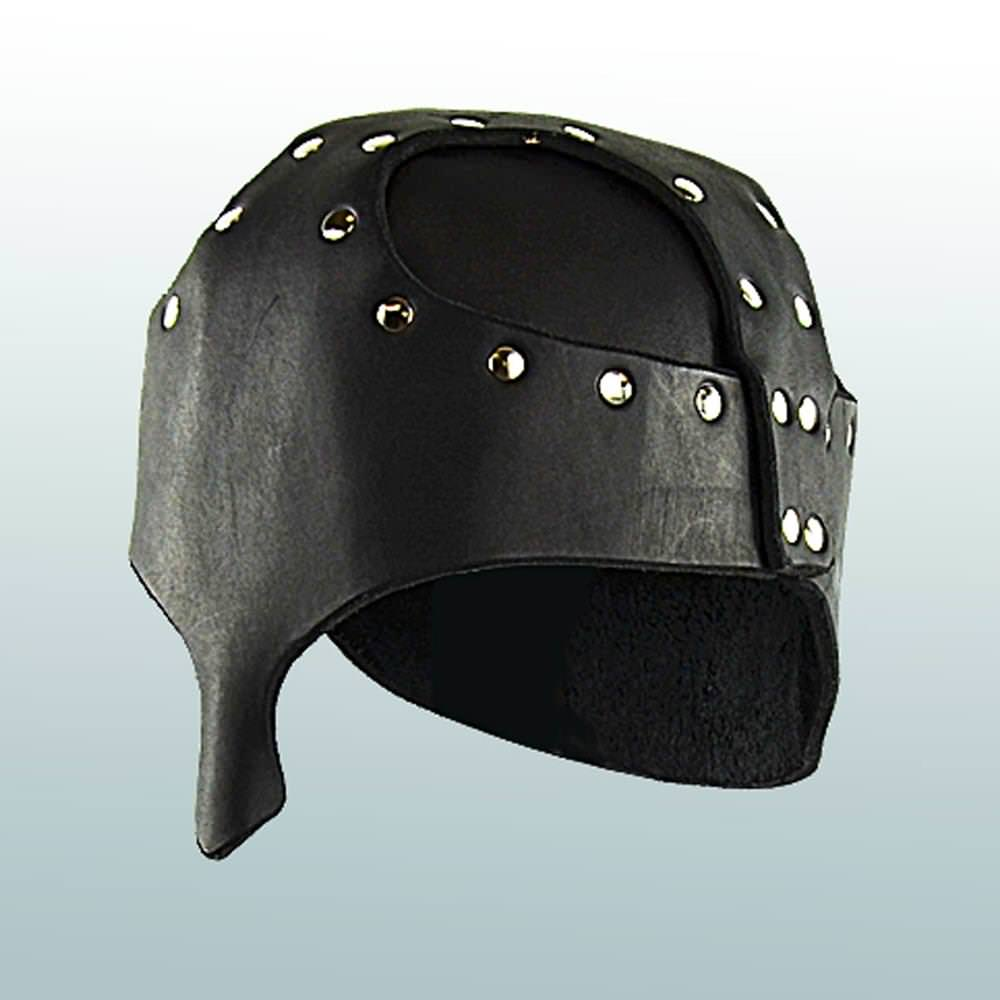 Picture of Leather Helm with Nasal Guard