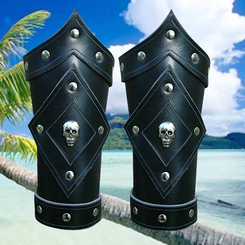 Picture of Dead Man's Pirate Vambraces