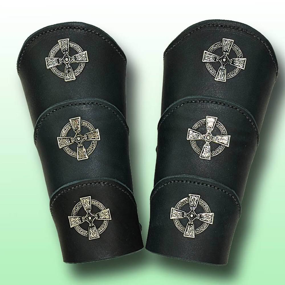 Picture of Celtic Warrior Leather Arm Vambraces