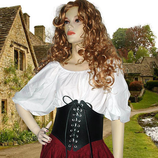 Picture of Ladies Leather Waist Cincher