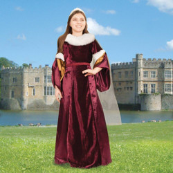 Picture of Queen Guinevere Girls Gown
