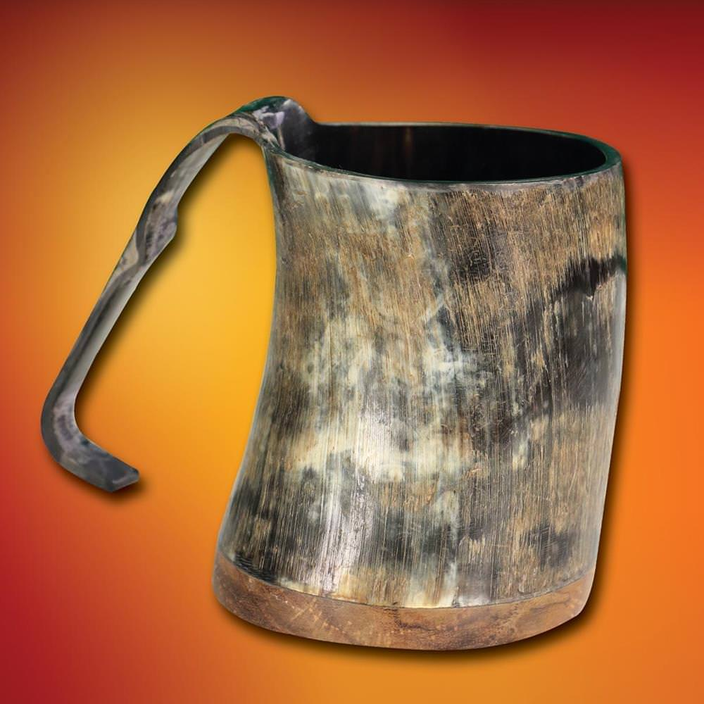 Picture of Half Pint Horn Tankard
