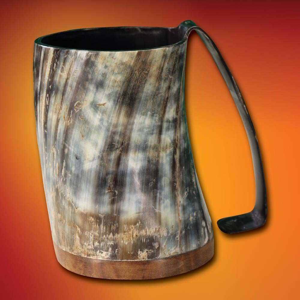 Picture of Full Pint Horn Tankard