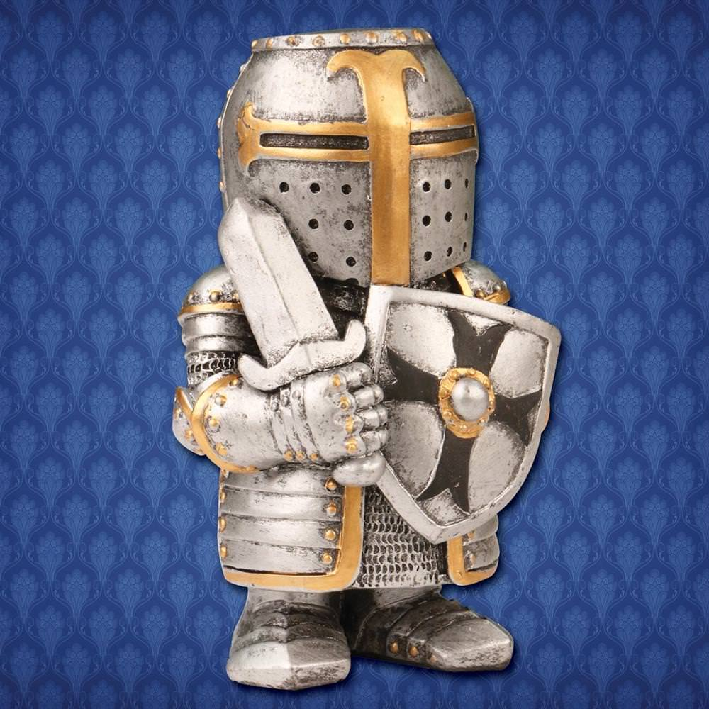 Picture of Shorty Crusader Knight Statue