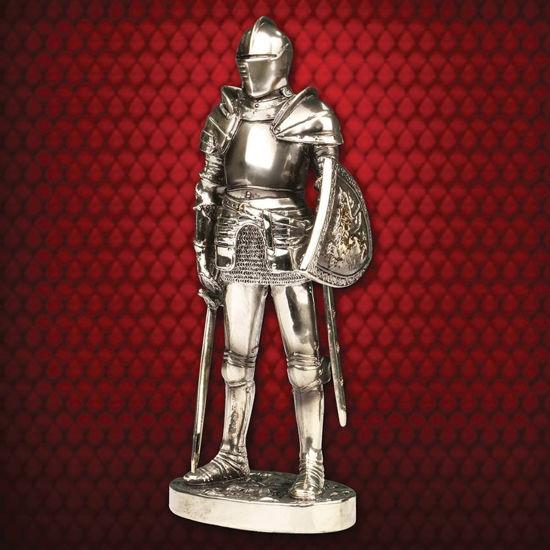 Milanese Italian Knight in Armor Statue