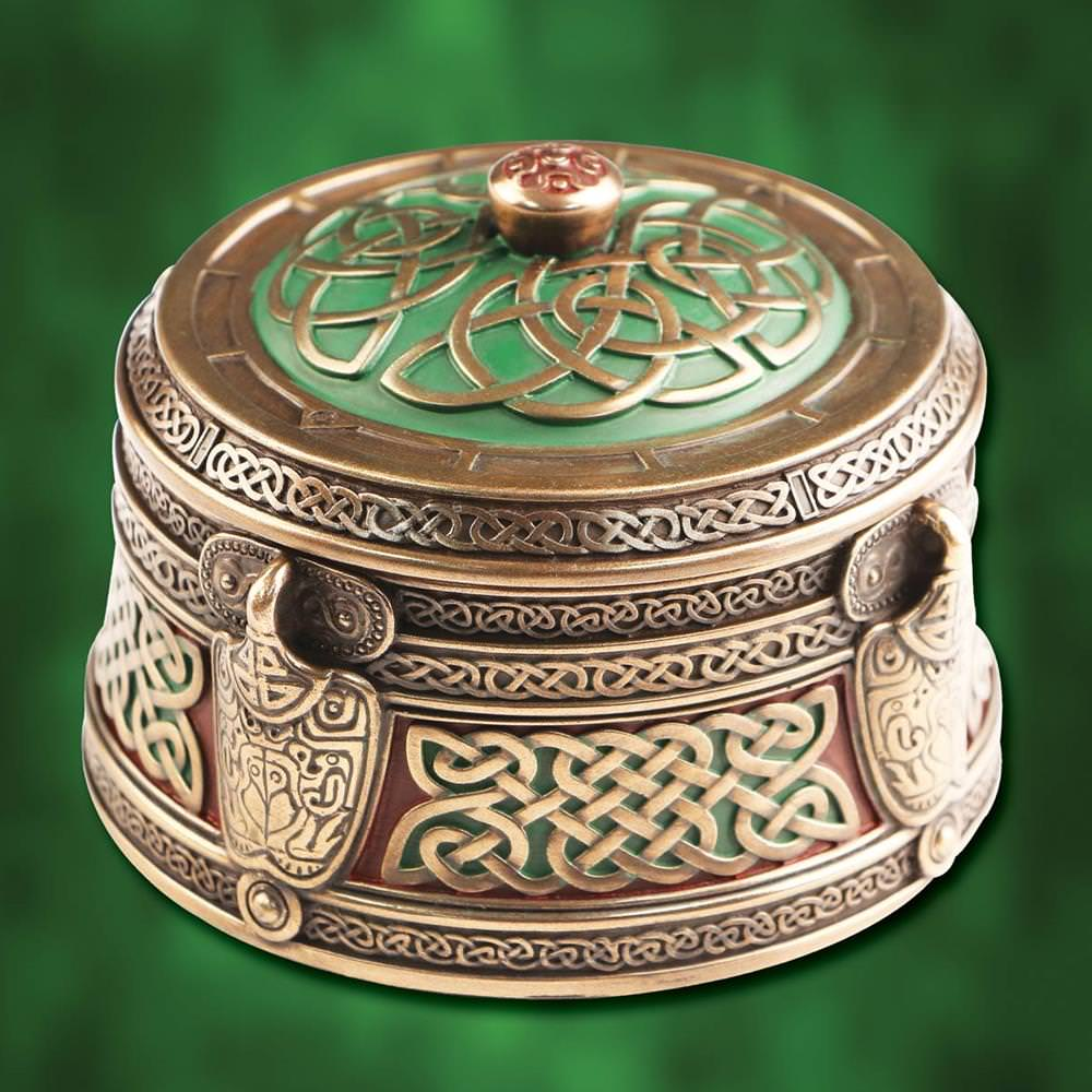 Picture of Celtic Pattern Trinket Box