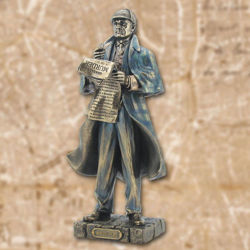 Picture of Sherlock Holmes Statue