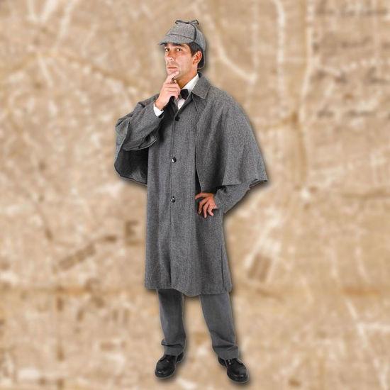 Picture of Baker Street Sherlock Holmes Coat