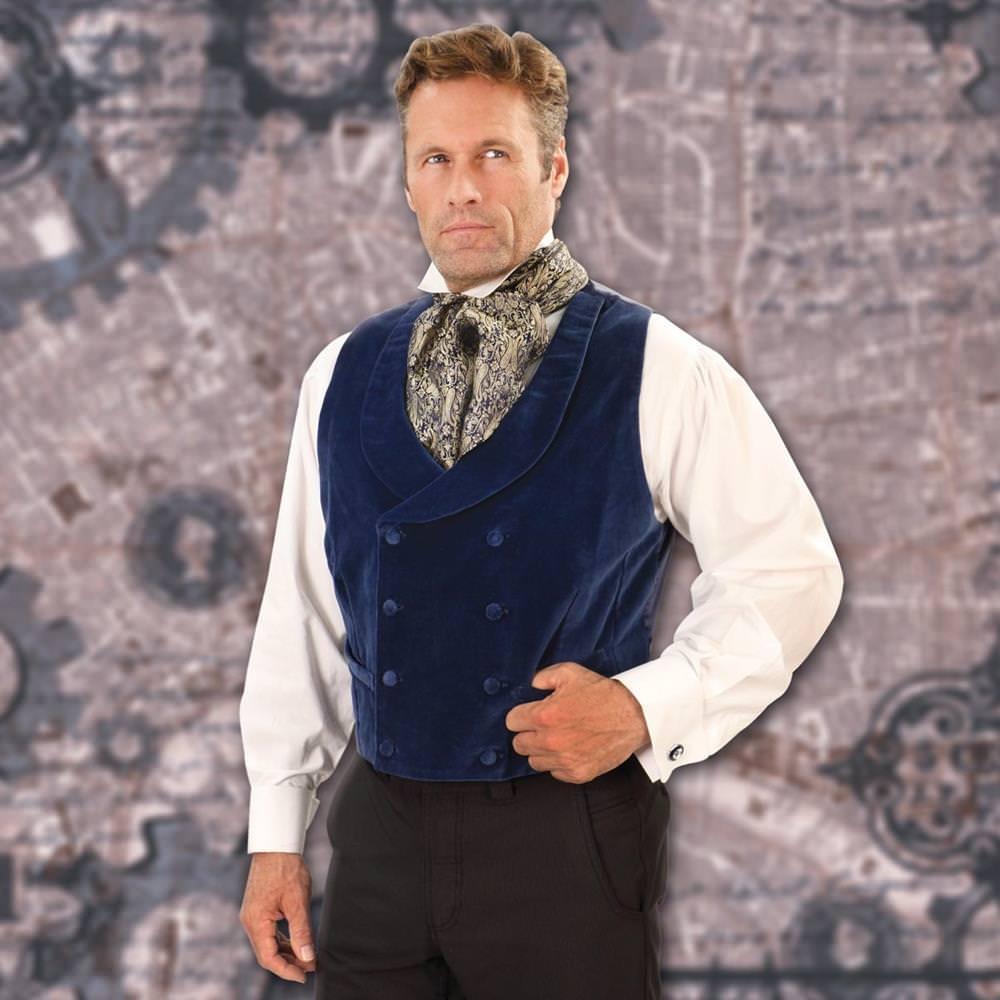 Picture of Sapphire Velvet Vest