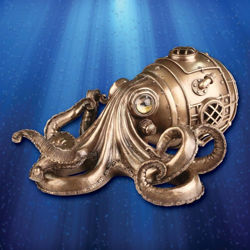 Picture of Octopus Secret Trinket Box
