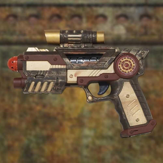 Picture of Steampunk Space Gun