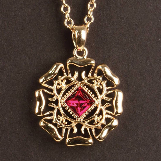 Picture of Anne of Cleves Tudor Rose Pendant