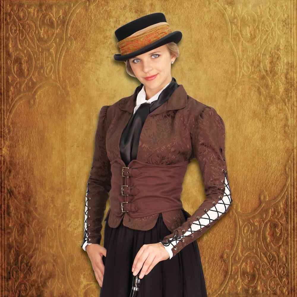 Picture of Winchester Brown Corset Coat