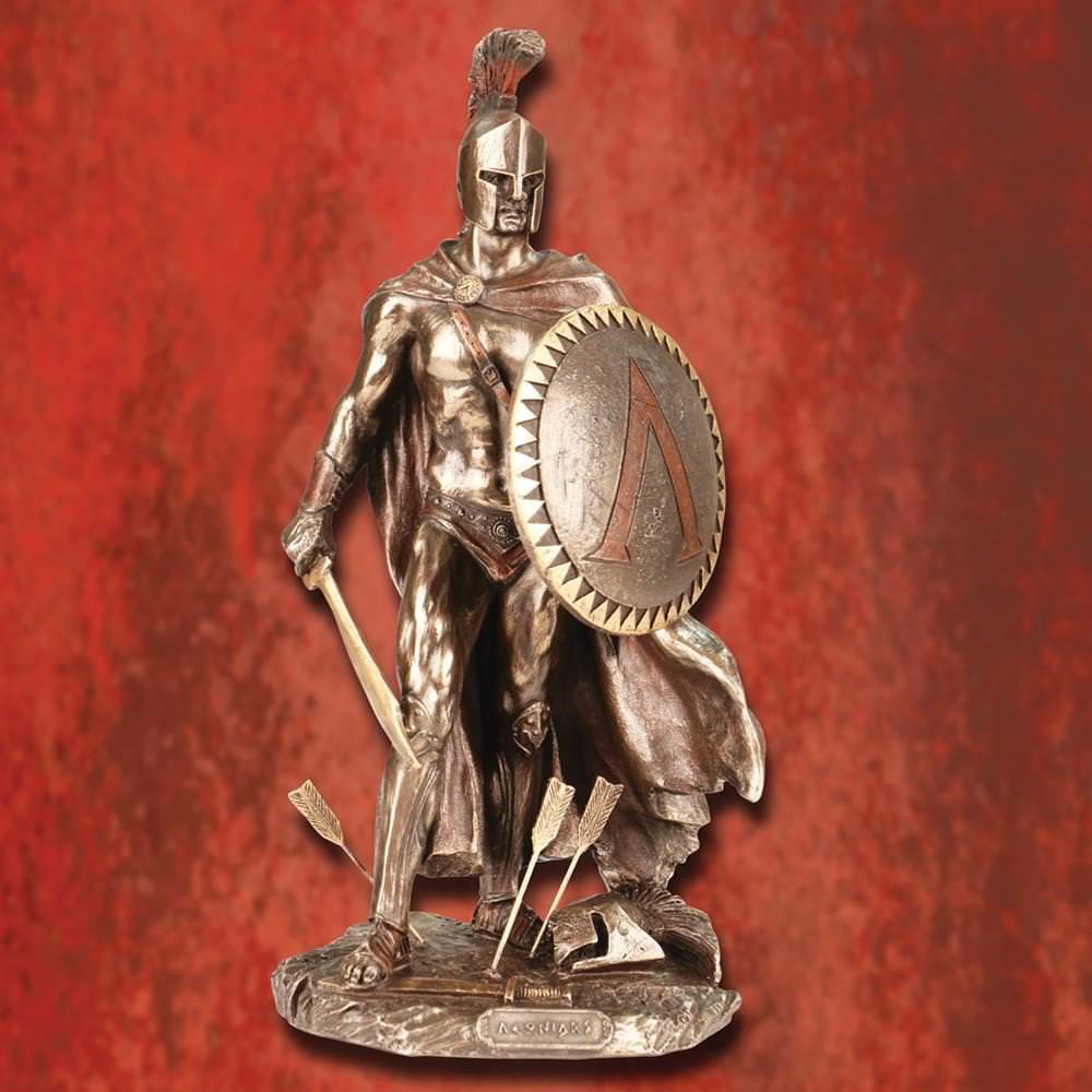 Picture of King Leonidas Statue