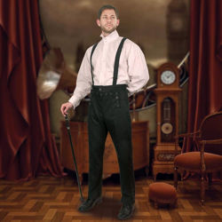 Picture of Jalopy Pants with Suspenders