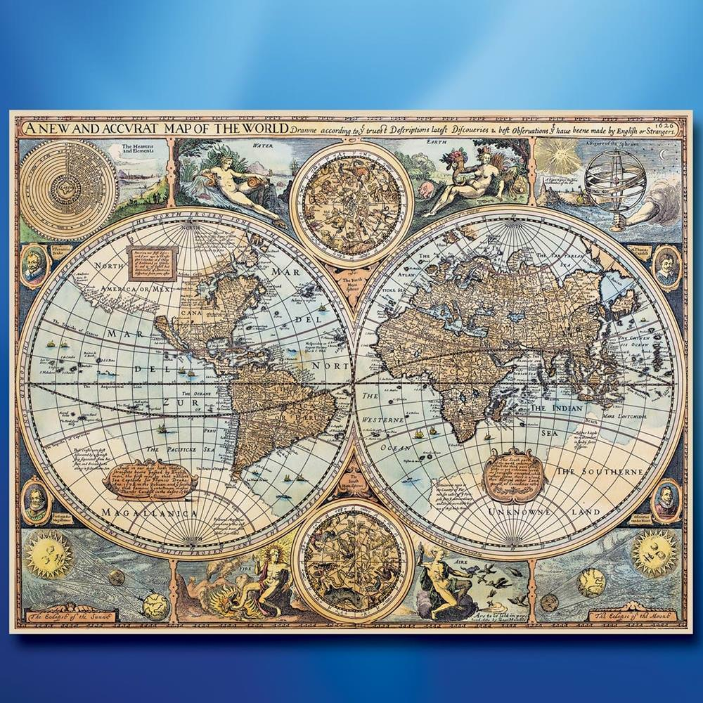 Picture of World of 1626 Canvas Print