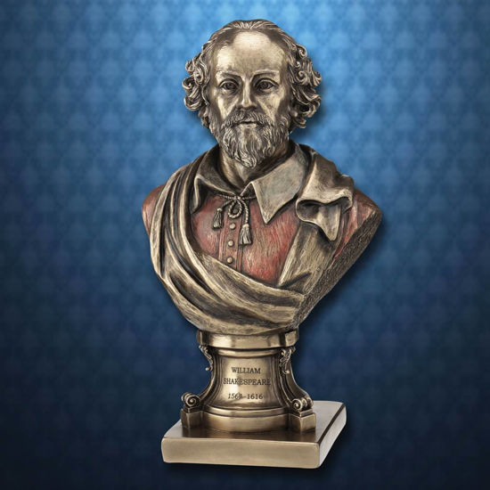 Picture of William Shakespeare Bust