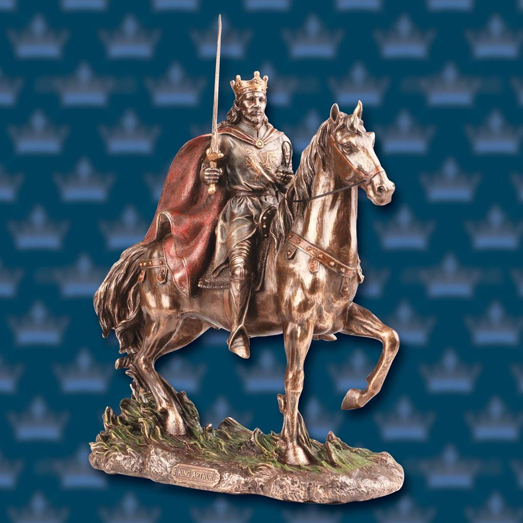 Picture of King Arthur Equestrian Statue