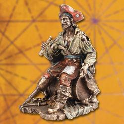Picture of Pirate Captain Statue