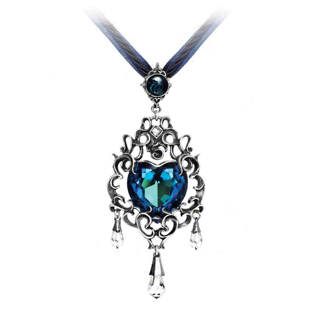 Picture of Empress Eugenie's Blue Heart Necklace
