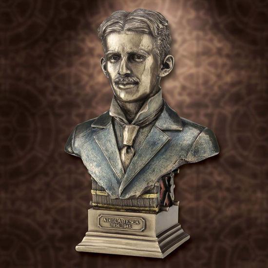 Picture of Nikola Tesla Bust