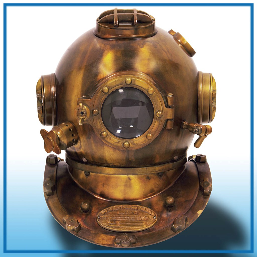 Picture of Mark V Diver's Helmet
