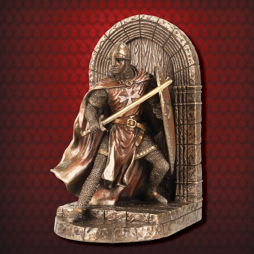 Picture of Hospitaller Knight Defense of the Realm Bookend