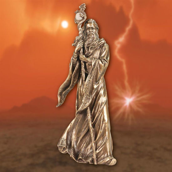 Picture of Merlin the Magician Statue