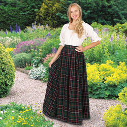 Picture of Scottish Plaid Skirt