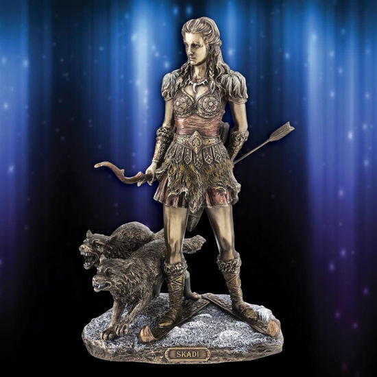 Picture of Skadi Norse Goddess Statue