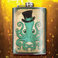 Picture of Gentleman Octopus Flask