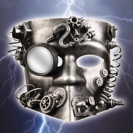Picture of Steampunk Cyborg Mask